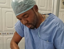 HAITIAN MEDICAL STUDENT READY TO GIVE BACK…